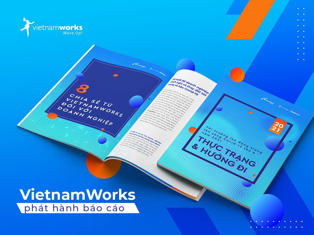 VietnamWorks công bố báo cáo Thị trường lao động sau Covid-19