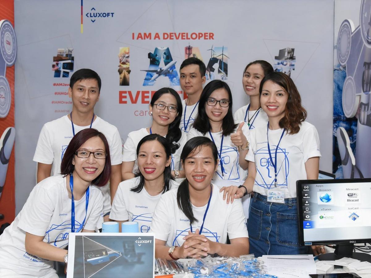 LUXOFT - Môi trường làm việc đa quốc gia với những dự án mang tính toàn cầu