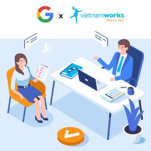 Tìm việc của VietnamWorks với tính năng mới của Google