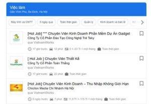VietnamWorks trên Google: một kênh mới giúp tiếp cận ứng viên tiềm năng nhiều hơn