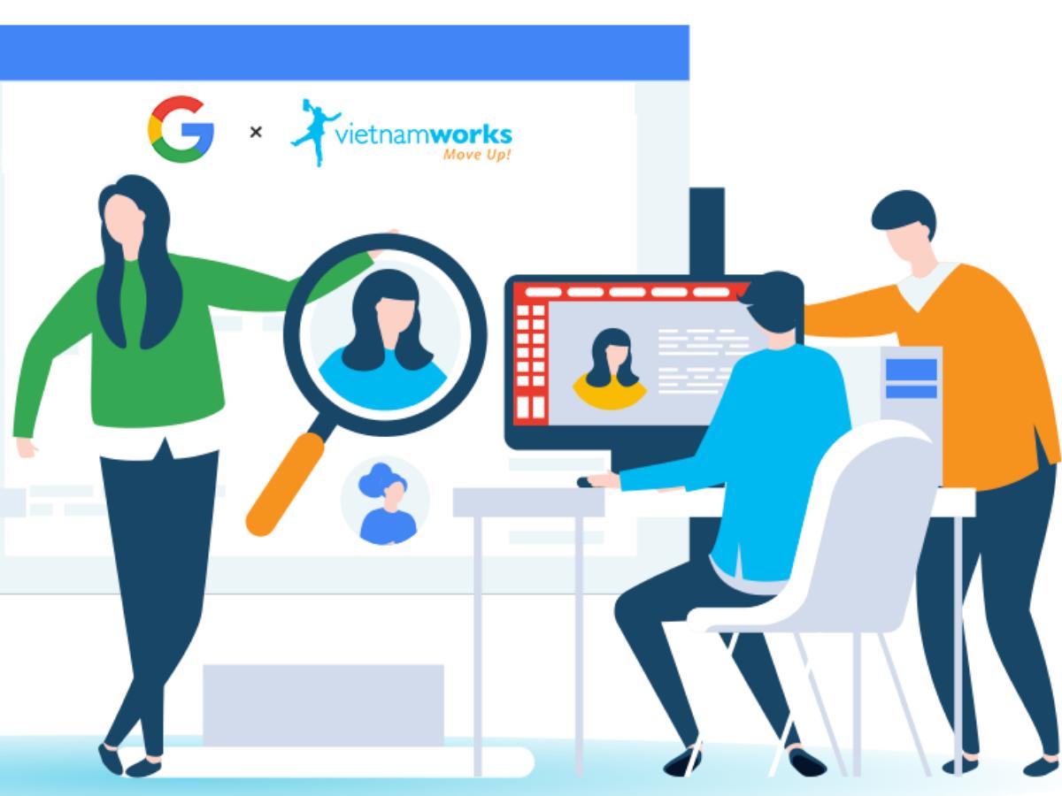 VietnamWorks trên Google: Cách tiếp cận ứng viên mới hoàn toàn mới