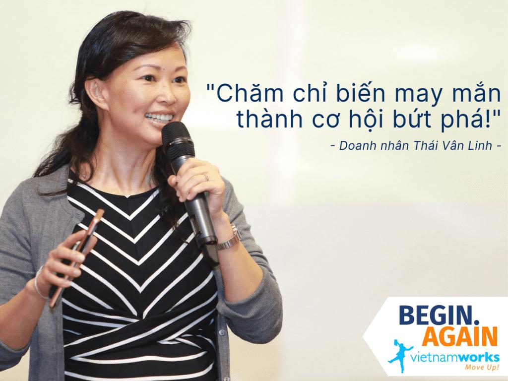 Doanh nhân Thái Vân Linh: Chăm chỉ biến may mắn thành cơ hội bứt phá!
