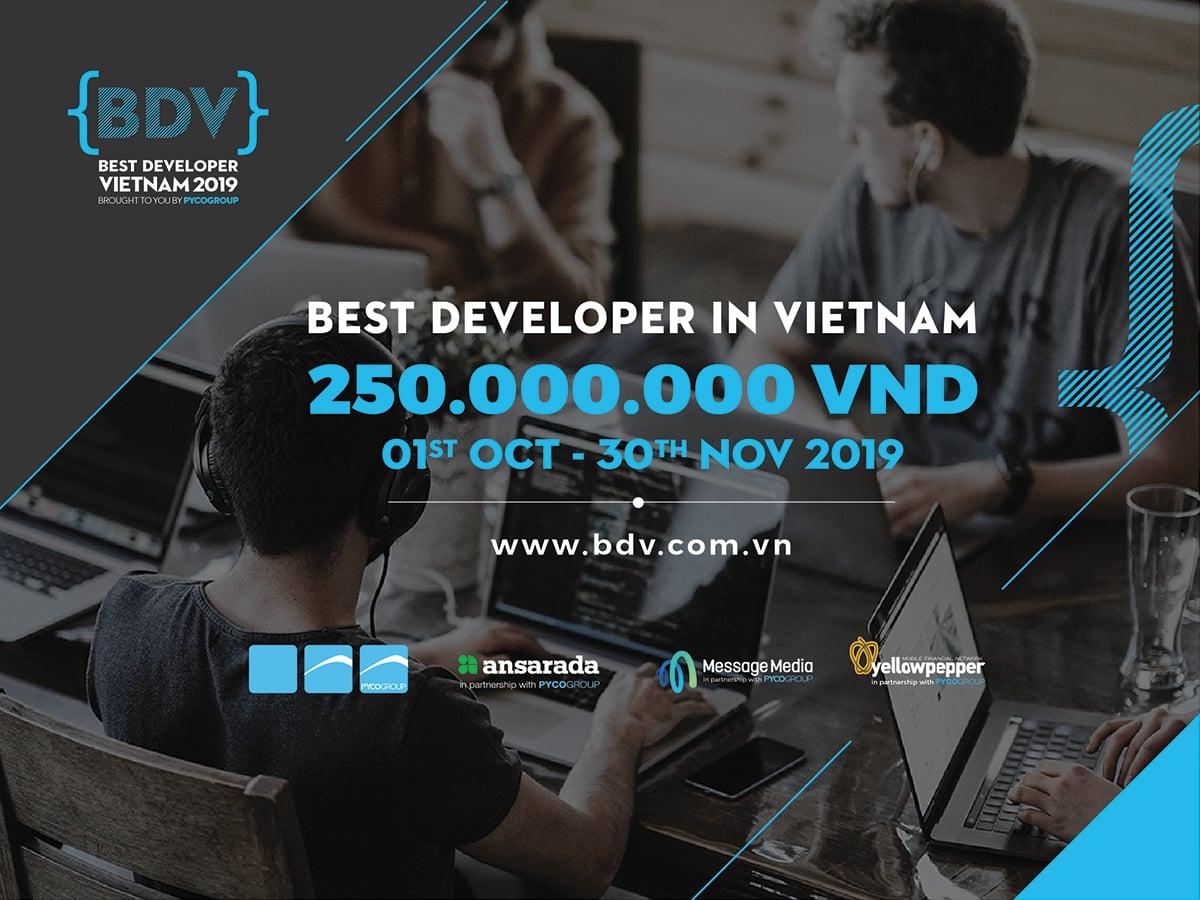Best Developer In Vietnam 2019