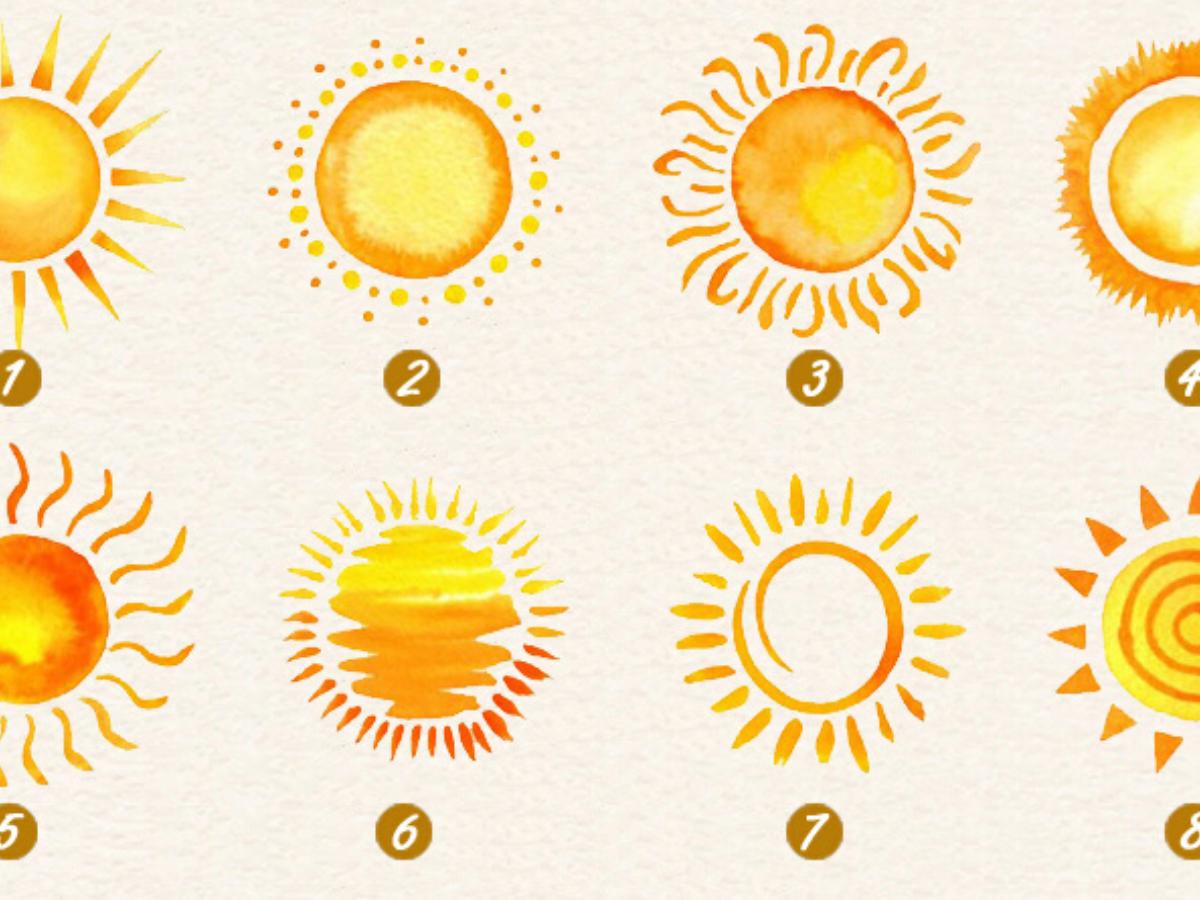 Trắc nghiệm hình ảnh: Khám phá sức mạnh tiềm ẩn qua các biểu tượng mặt trời