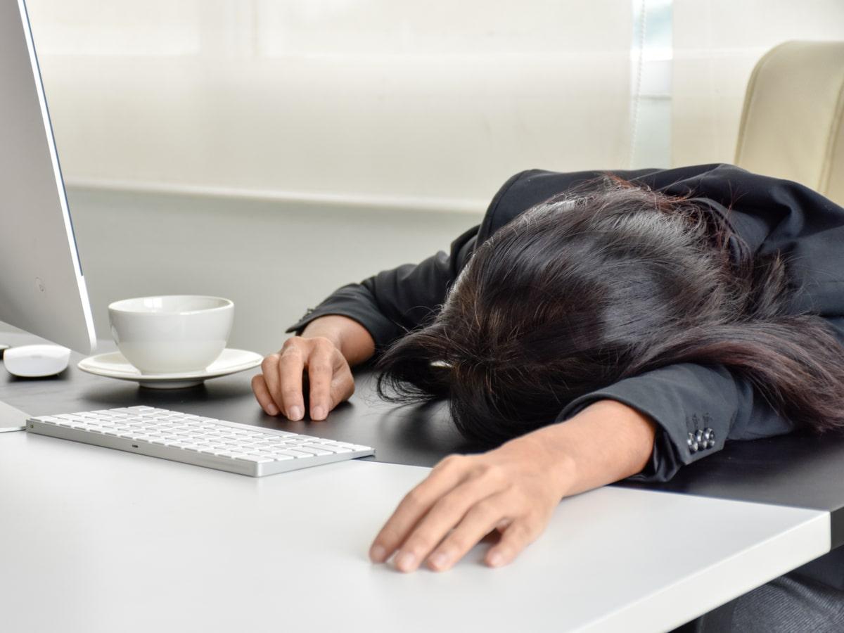 mệt mỏi vì công việc