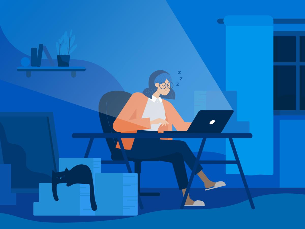 Làm việc work from home 24/7, lợi hay hại?