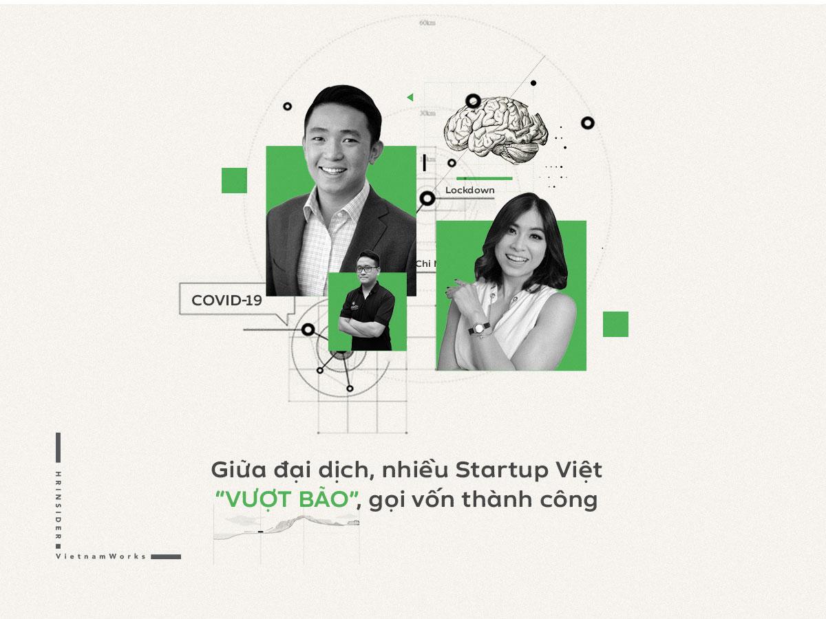 """Giữa đại dịch, nhiều startup Việt """"vượt bão"""" gọi vốn thành công"""