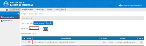 Hướng dẫn đăng ký trực tuyến nhận hỗ trợ từ Quỹ bảo hiểm thất nghiệp